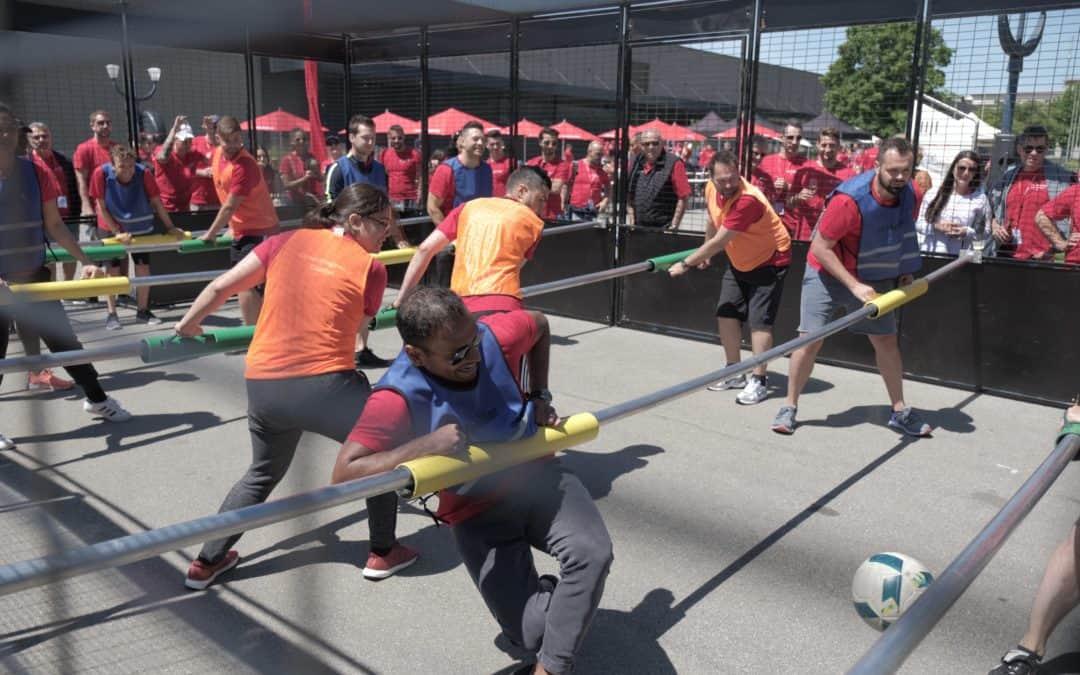 Jeux sportif pour Team Building !