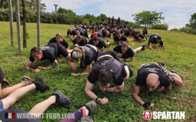 Course à obstacles à Lyon (Spartan race)