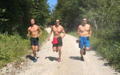 Seminaire sportif autour du Lac Chalin