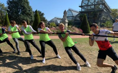 Séminaire sportif (team building) olympiade à Lyon
