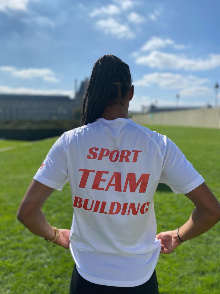 Coralie gassama avec sport team building